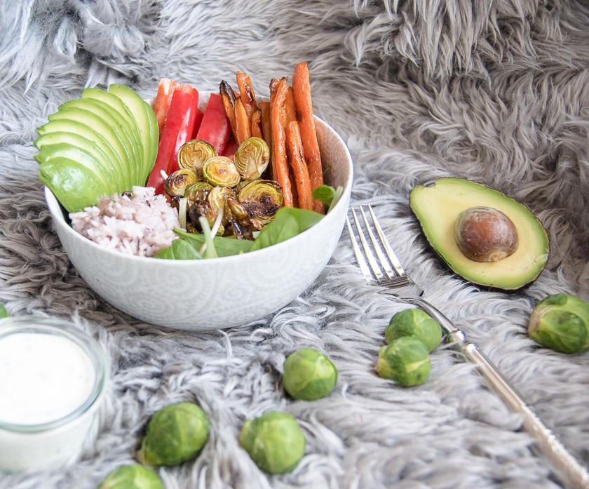 Foodbowl mit Wasabi Dip 6