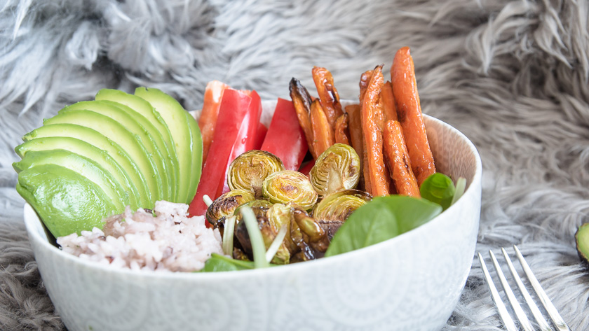 Foodbowl mit Wasabi Dip 5