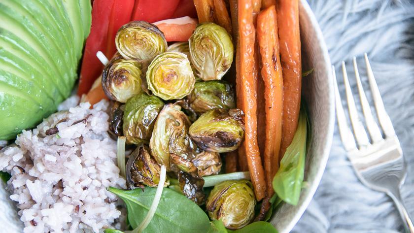 Foodbowl mit Wasabi Dip 4