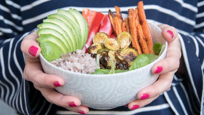 Foodbowl mit Wasabi Dip 3
