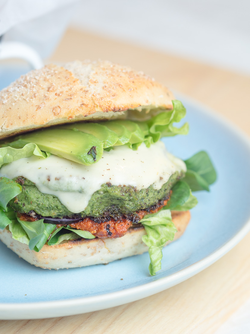 Green Veggie Burger 11