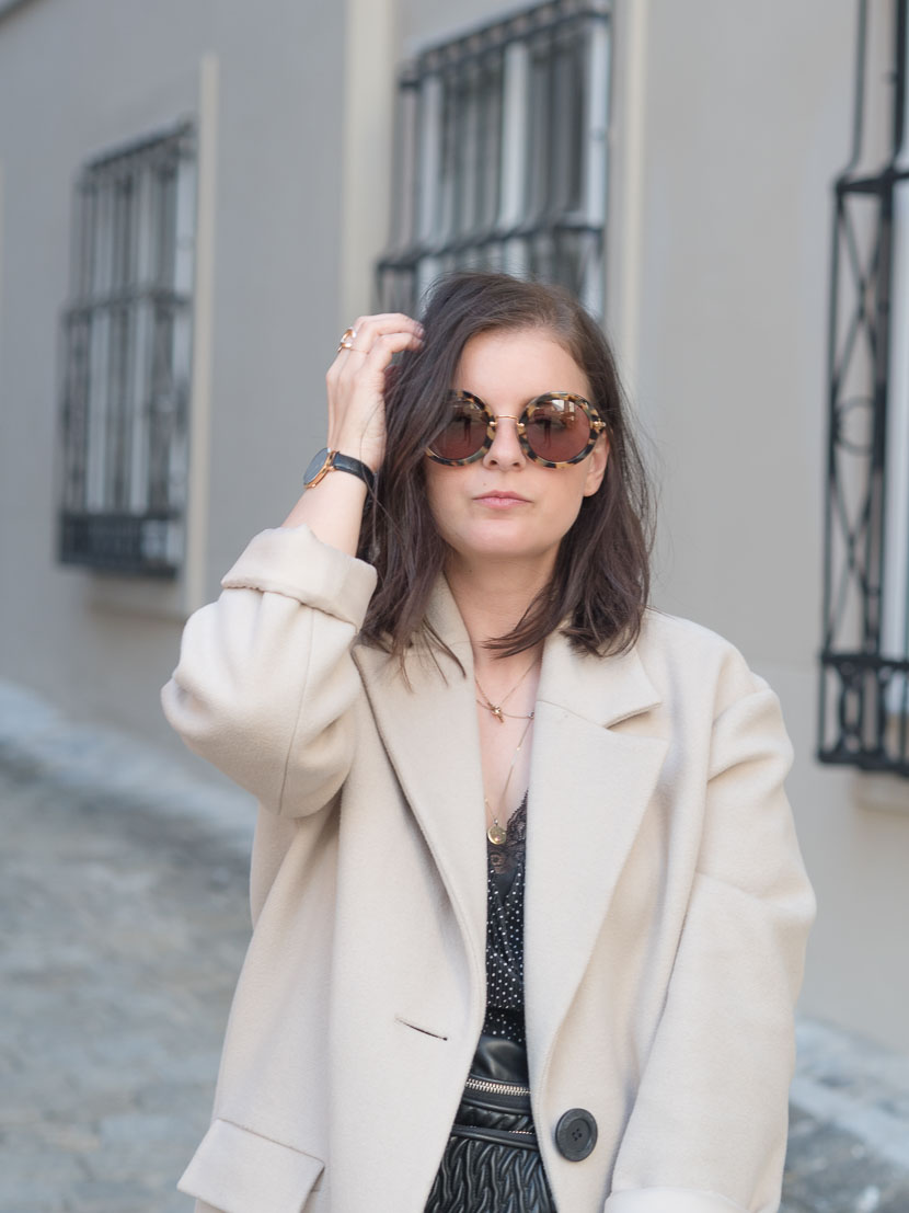 Outfit Der Perfekte Beige Mantel Via Zalando Lounge