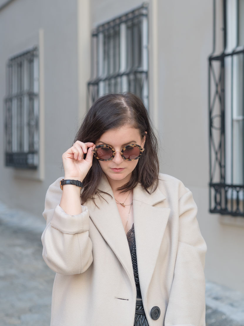 Outfit: der perfekte beige Mantel via Zalando Lounge* 11