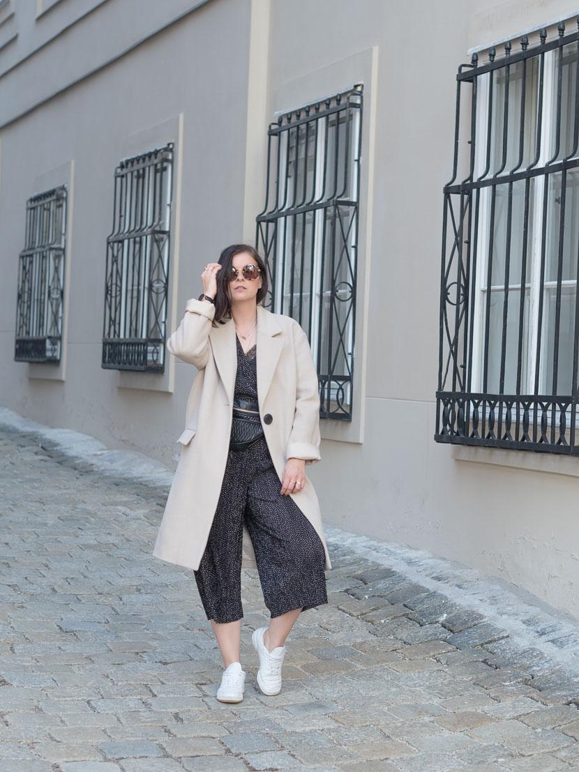 Outfit: der perfekte beige Mantel via Zalando Lounge* 9