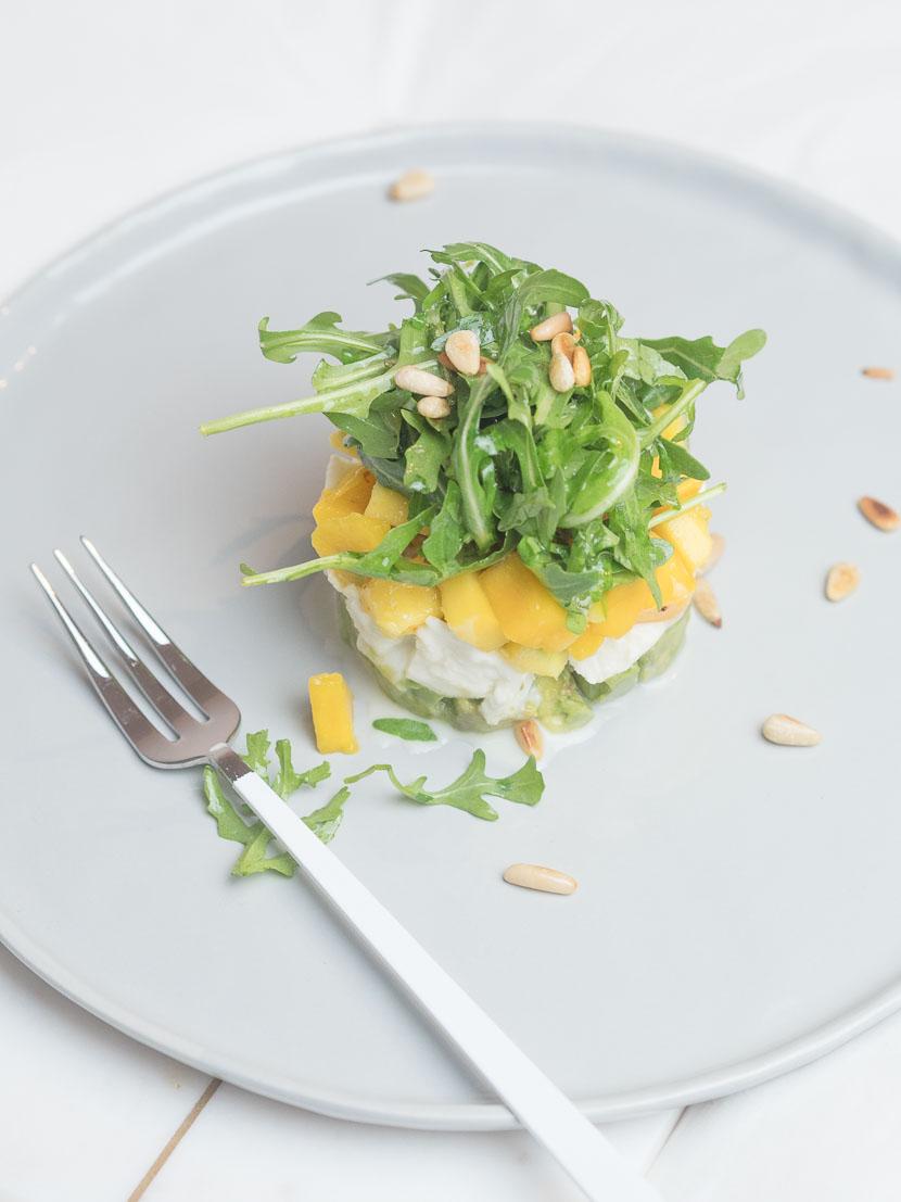 Caprese mit Mango und Avocado 2