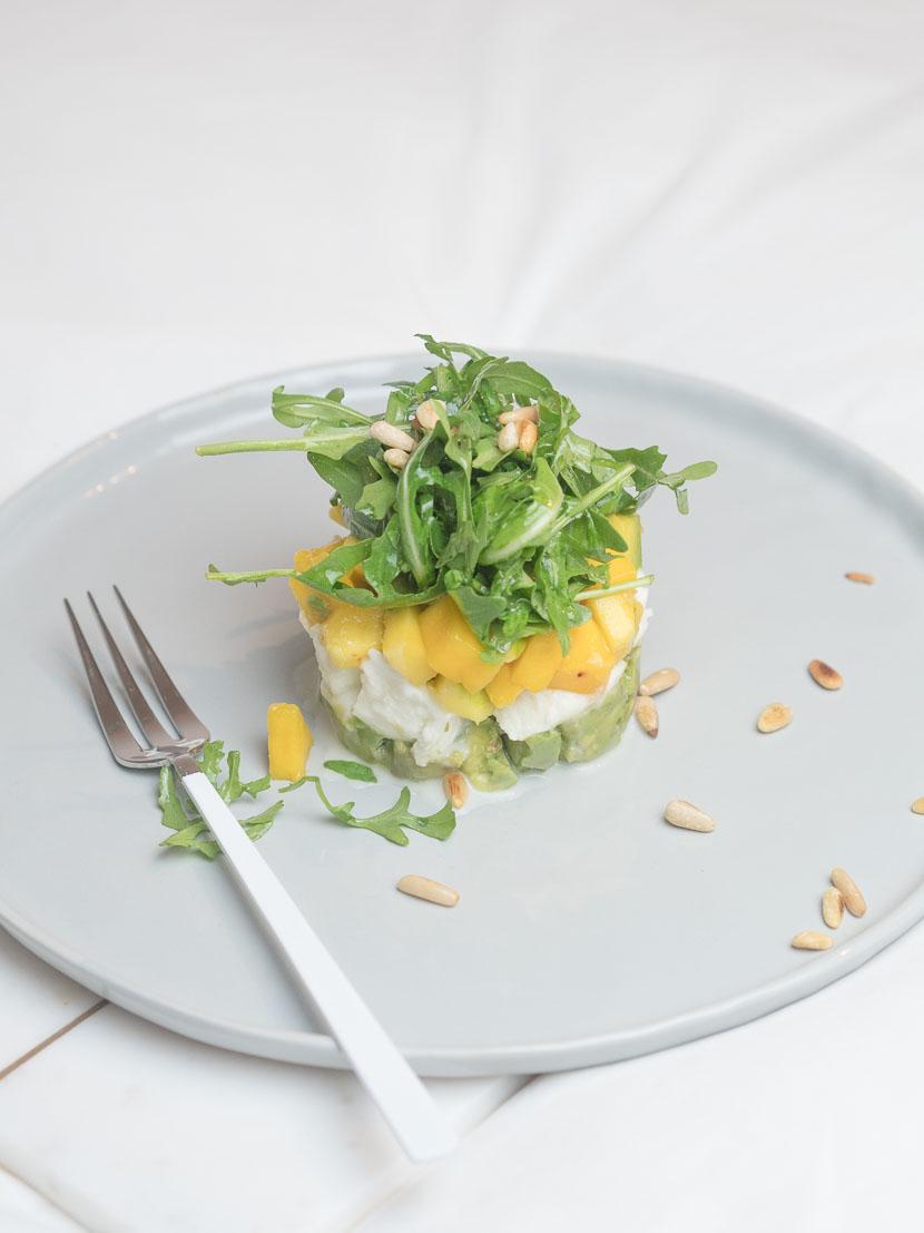 Caprese mit Mango und Avocado 6