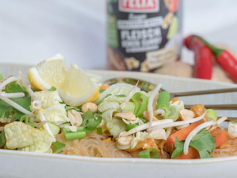 One Pot Glasnudel Sugo Curry mit FELIX Sugo Streetfood Style* 1