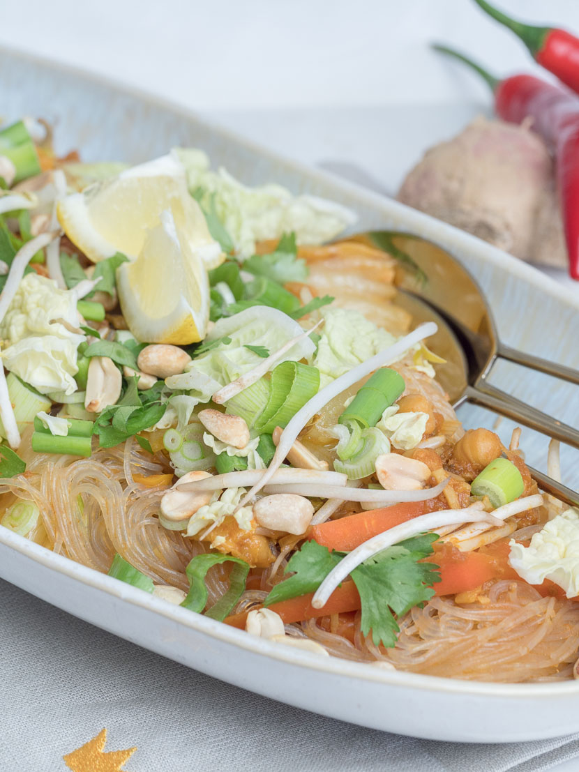 One Pot Glasnudel Sugo Curry mit FELIX Sugo Streetfood Style* 5