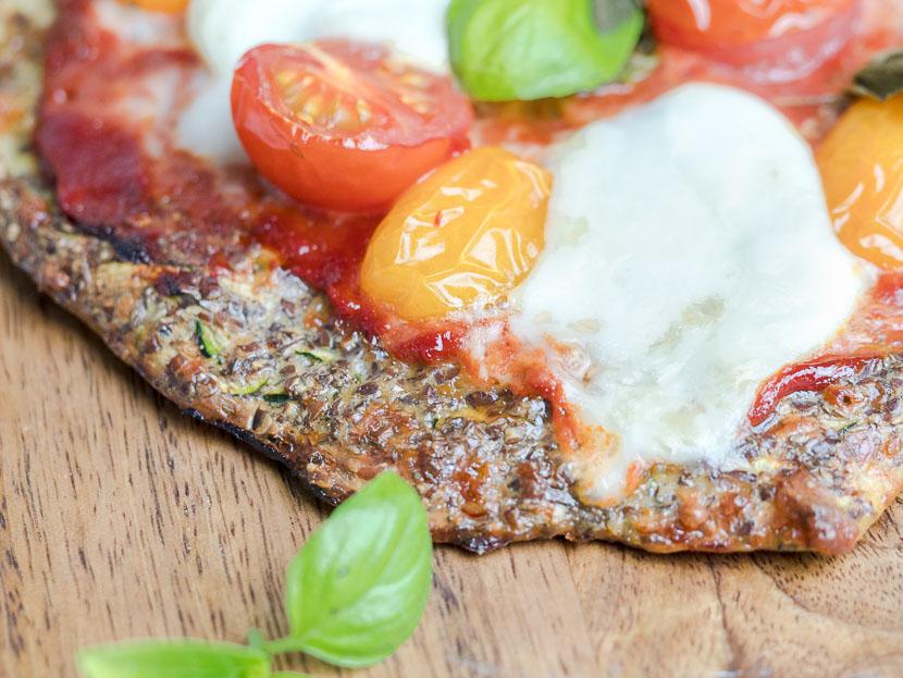 Leinsamen - das heimische Superfood   inkl. Pizzateig Rezept 2