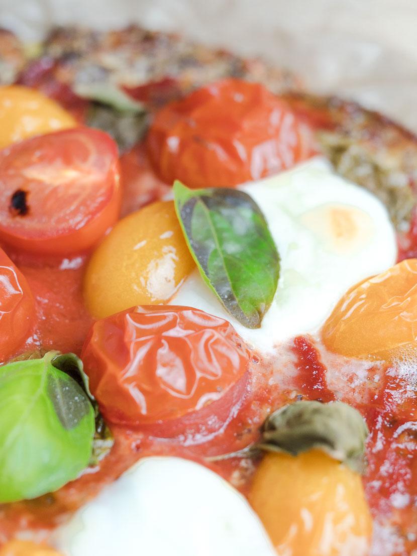 Leinsamen - das heimische Superfood   inkl. Pizzateig Rezept 8