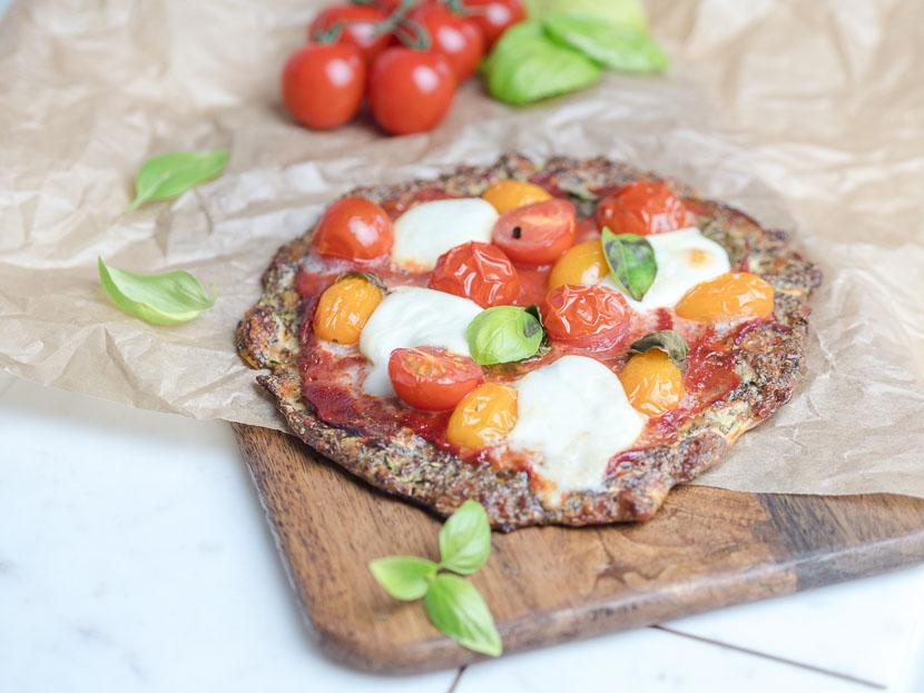 Leinsamen - das heimische Superfood   inkl. Pizzateig Rezept 9