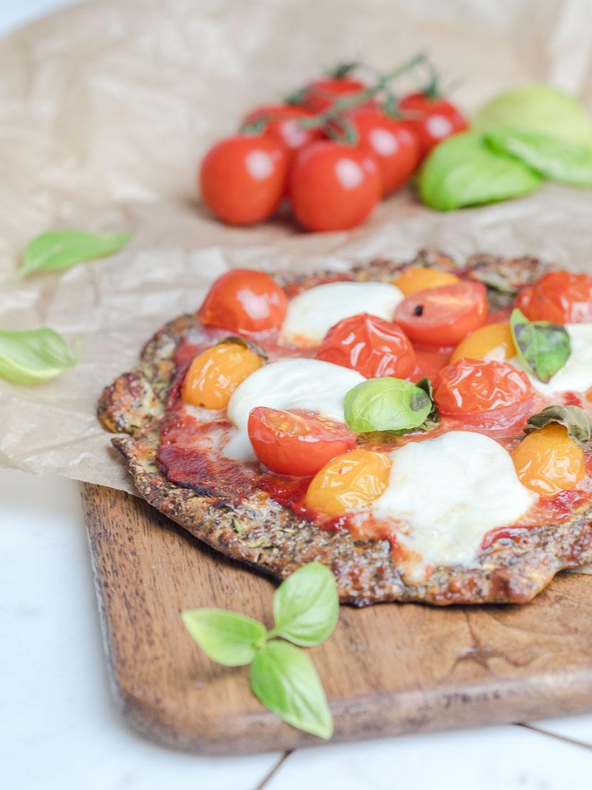 Leinsamen - das heimische Superfood   inkl. Pizzateig Rezept 4