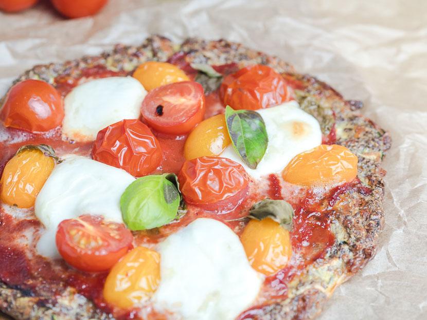 Leinsamen - das heimische Superfood   inkl. Pizzateig Rezept 6