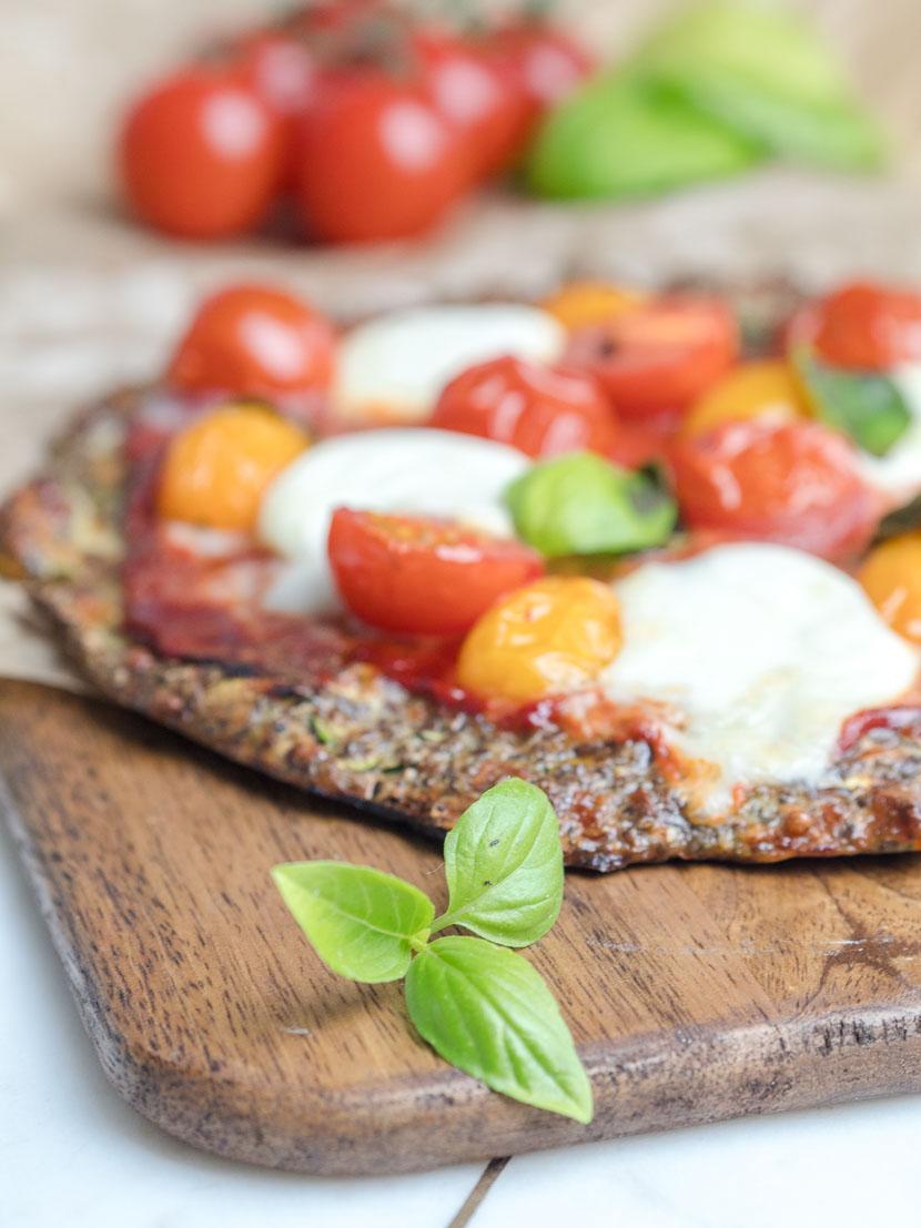 Leinsamen - das heimische Superfood   inkl. Pizzateig Rezept 5