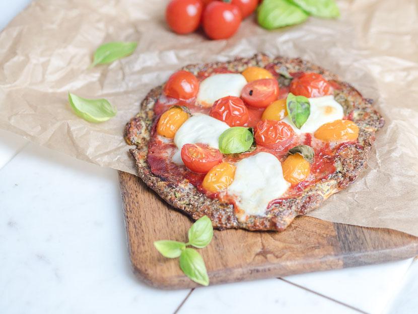 Leinsamen - das heimische Superfood   inkl. Pizzateig Rezept 1
