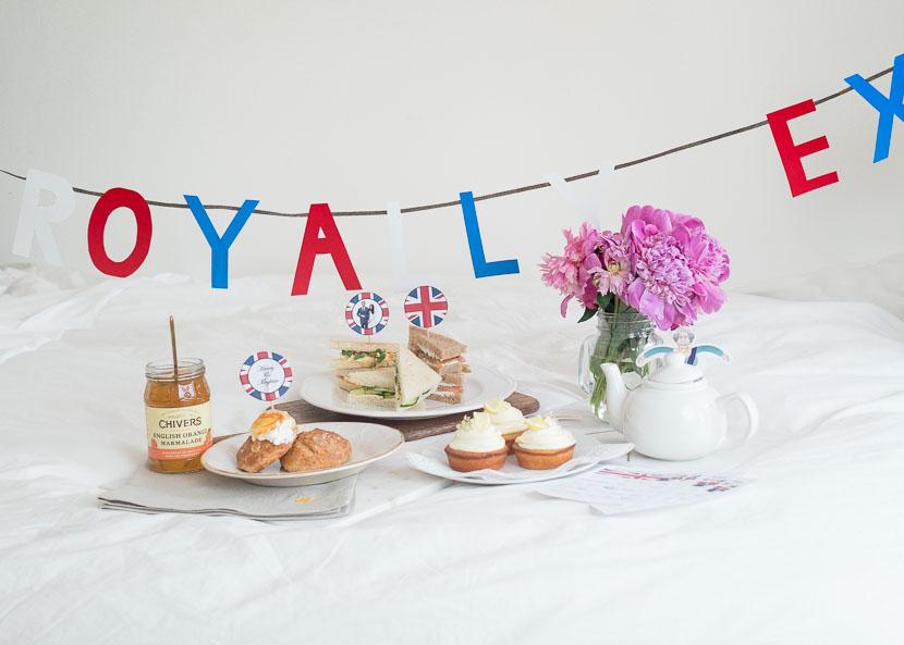 Royal Wedding Brunch - Last Minute Rezepte und DIY Deko 17
