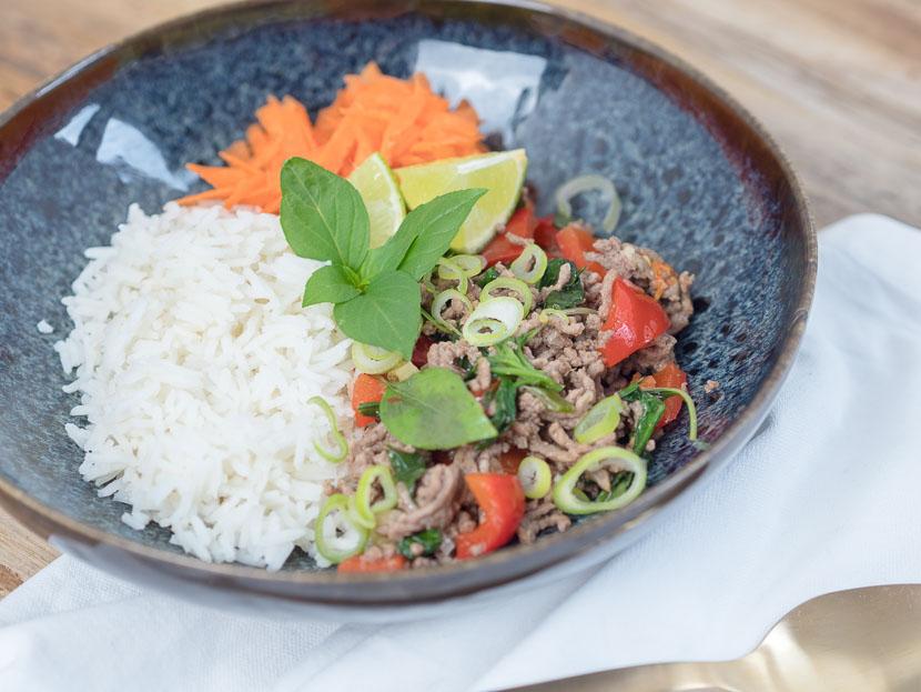 Thai Basil Beef 7