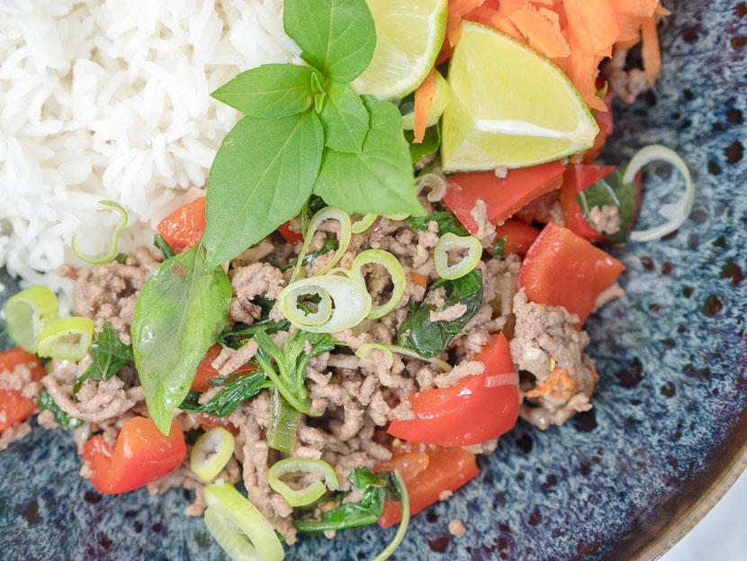 Thai Basil Beef 6