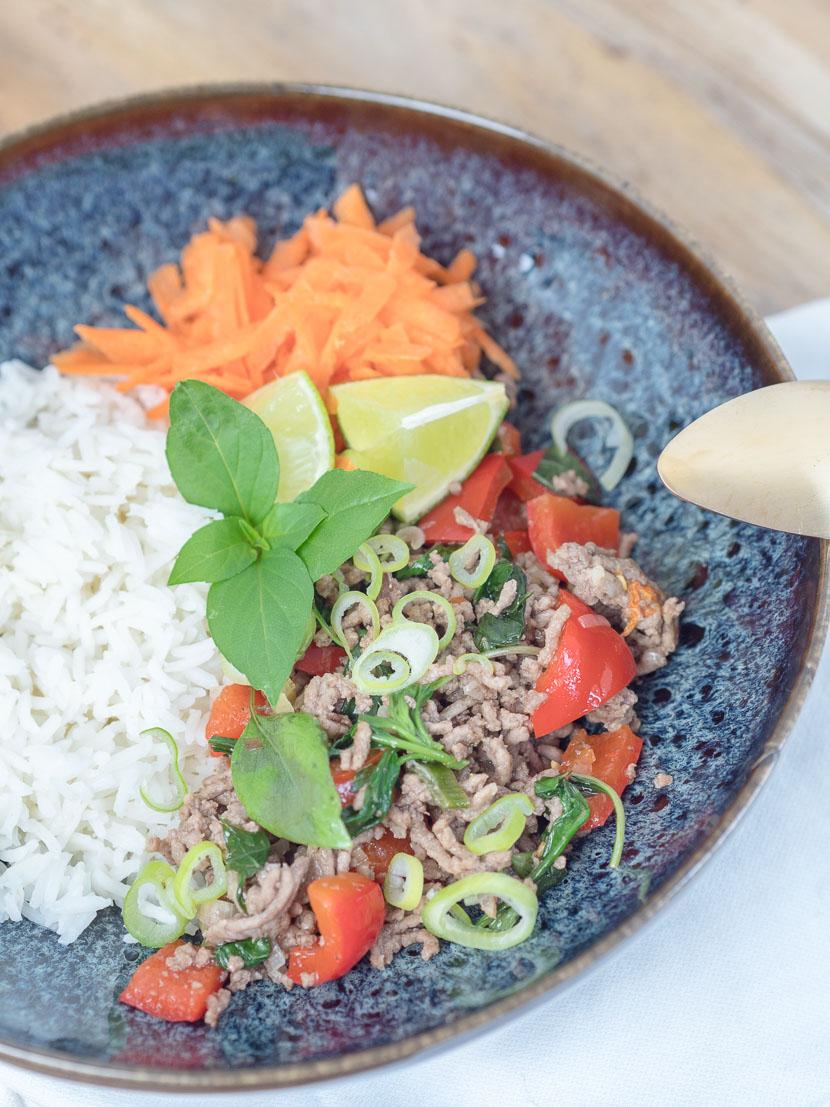 Thai Basil Beef 5
