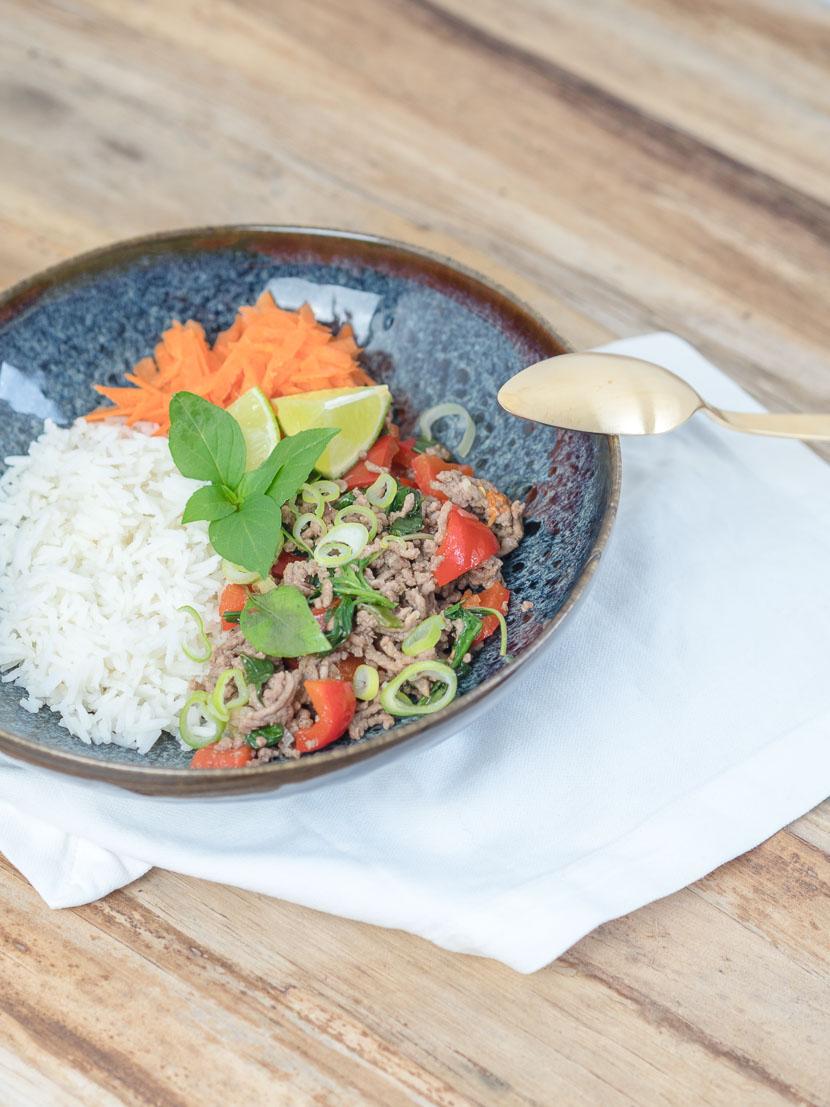 Thai Basil Beef 4