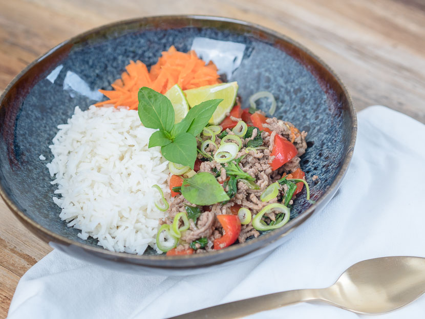 Thai Basil Beef 1
