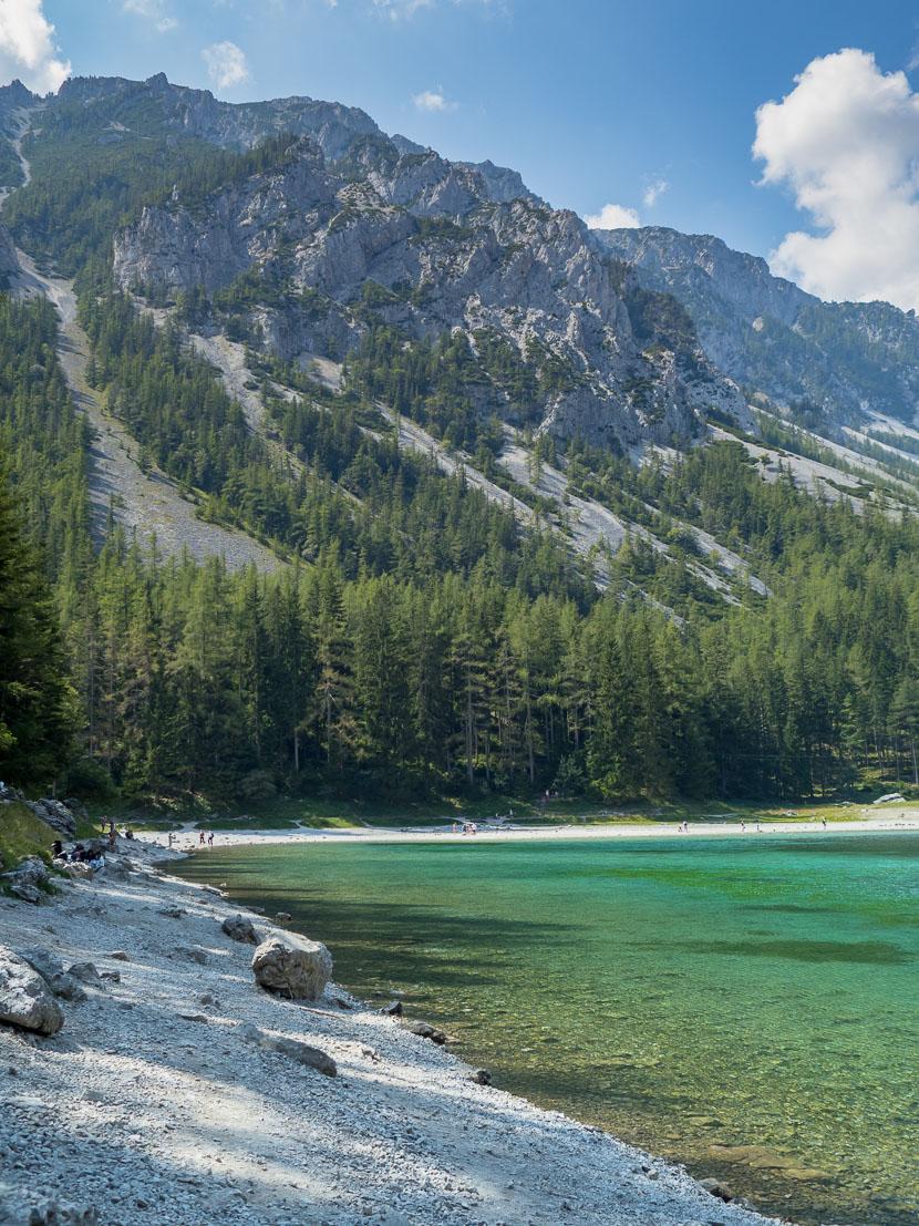 Ausflugstipp in Österreich: Der Grüne See 1