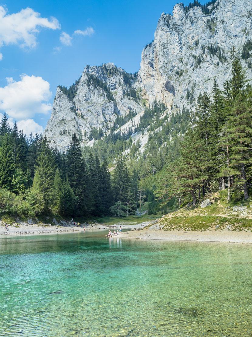 Ausflugstipp in Österreich: Der Grüne See 2