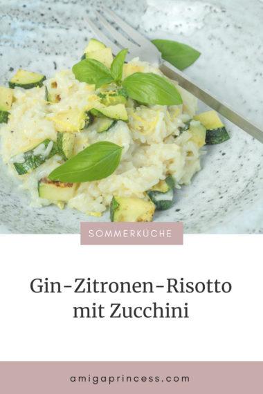 Gin-Zitronen-Risotto mit Zucchini 9