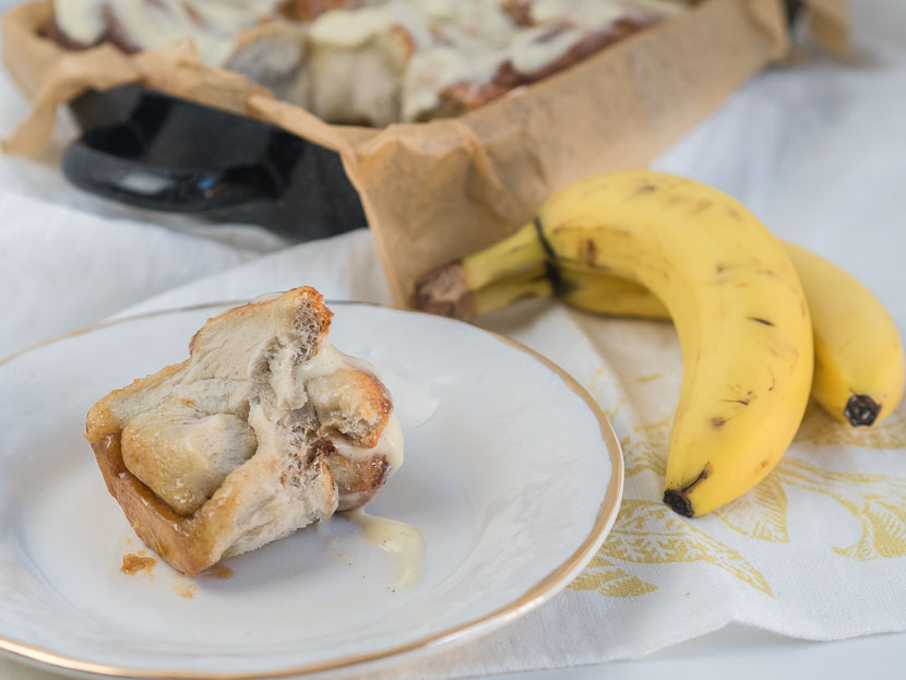 Banana Cinnamon Rolls 8
