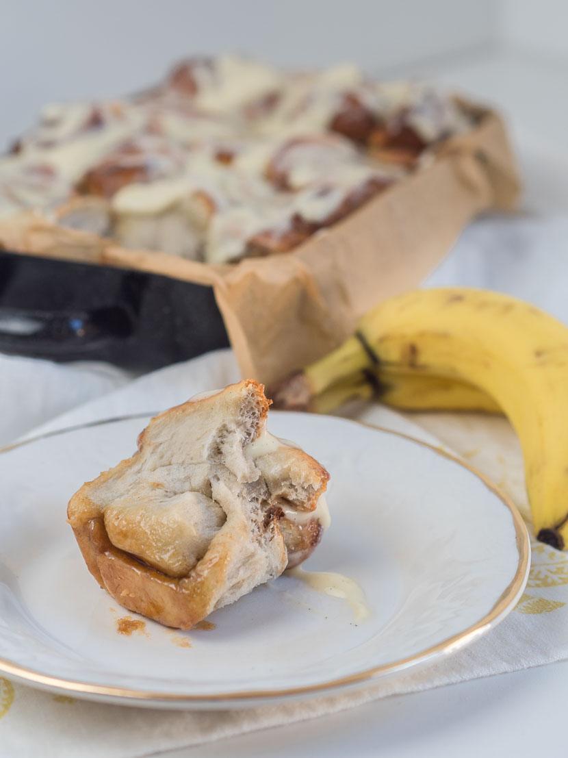Banana Cinnamon Rolls 2
