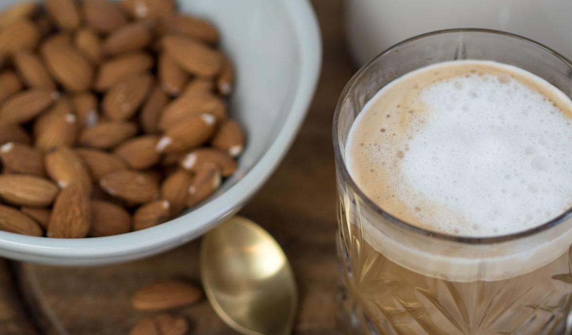Mandelmilch selber machen: Rezept und Wissenswertes zur Herstellung, Selbstgemachte Mandelmilch mit nussigem Aroma, Mandeldrink als vegane Alternative zu Kuhmilch, Pflanzenmilch ganz einfach selber machen, Grundrezept für Mandelmilch, einfach, gesund und schnell, Mandelmilch ist vielseitig einsetzbar, Rezepte mit Mandelmilch, schnelles Mandelmilch Rezept zum Selbermachen, Foodblog, www.amigaprincess.com #mandelmilch #diymilch #pflanzenmilch