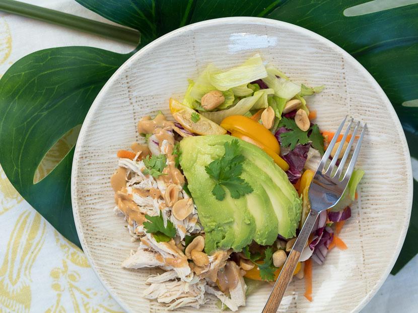 Peanut Chicken Salad 1