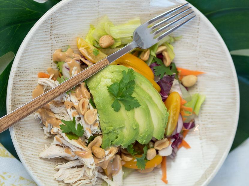 Peanut Chicken Salad 8