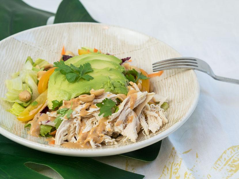 Peanut Chicken Salad 7