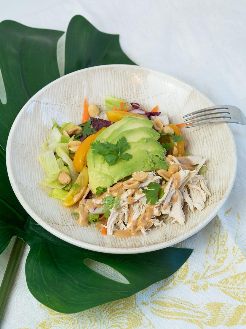 Peanut Chicken Salad 6