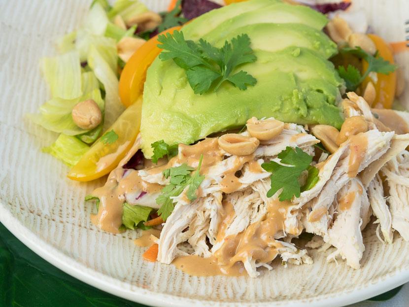 Peanut Chicken Salad 5