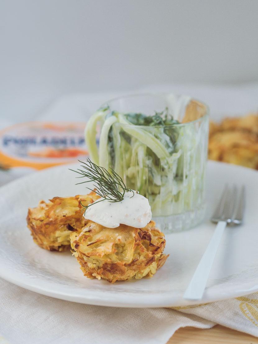 Kartoffelrösti Muffins mit Philadelphia Lachs & Dill* 8