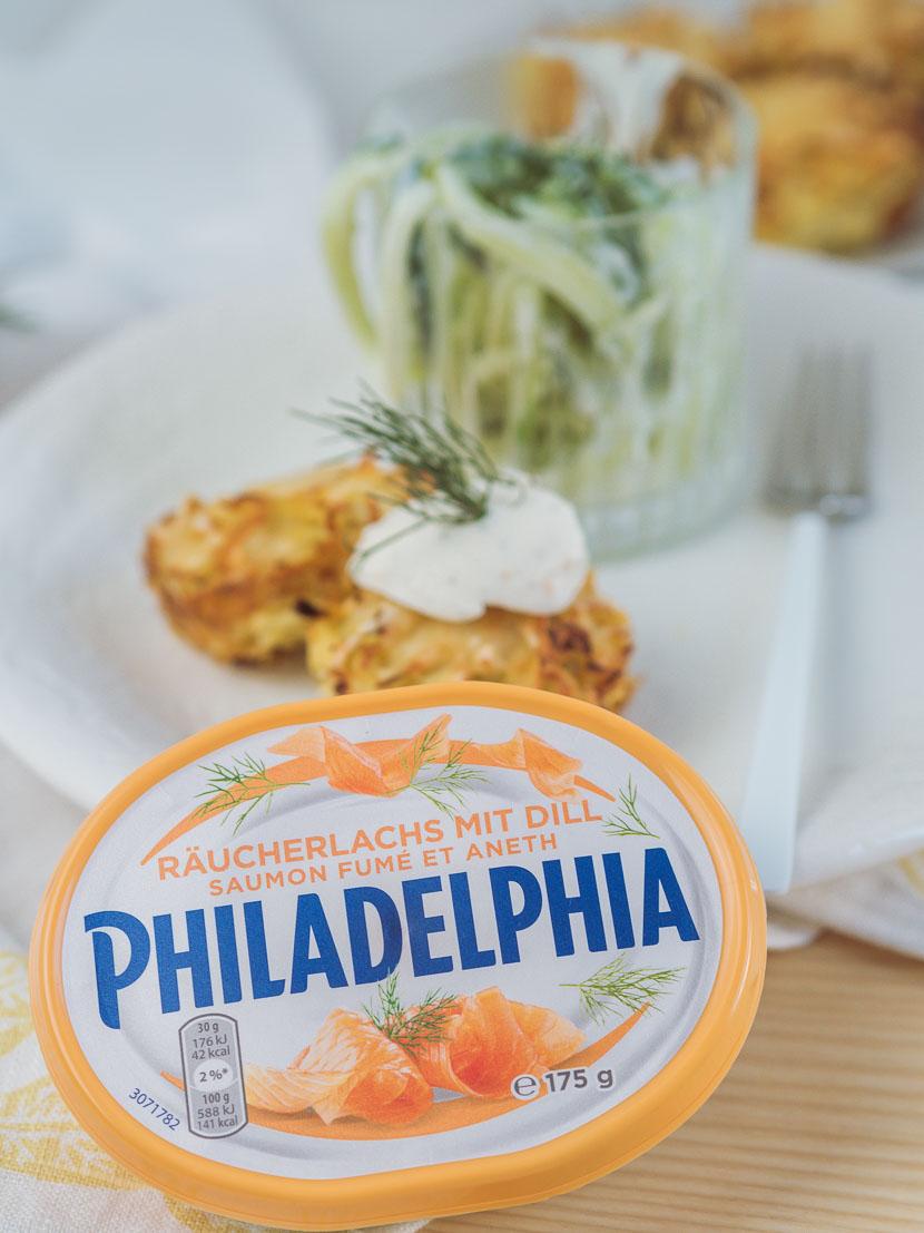 Kartoffelrösti Muffins mit Philadelphia Lachs & Dill* 4