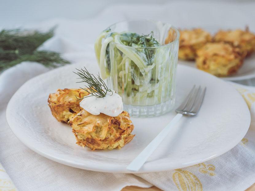 Kartoffelrösti Muffins mit Philadelphia Lachs & Dill* 11