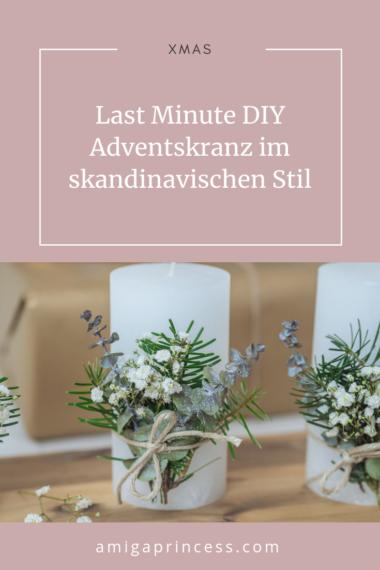 Last Minute DIY Adventskranz im skandinavischen Stil 12