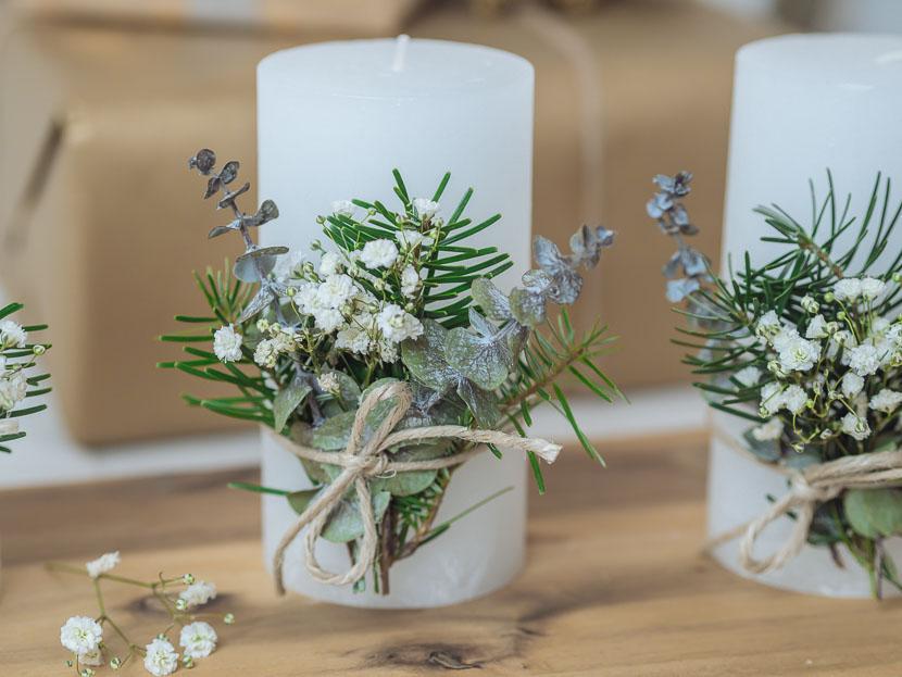 Last Minute DIY Adventskranz im skandinavischen Stil 6