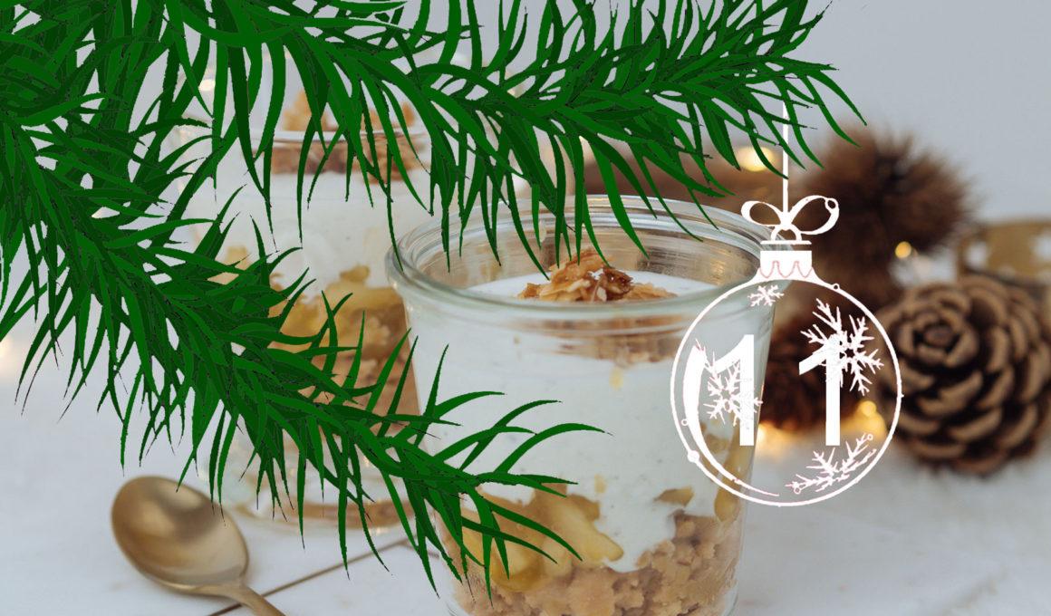 3-Gänge Weihnachtsmenü unter 50 Euro | Werbung, einfach und schnell, Christmas Dinner, Essen an Weihnachten, schnelle Rezepte für Weihnachten, günstiges Weihnachtsmenü, dieses Menü lässt sich ganz einfach vorbereiten, Gefüllte Feigen im Prosciuttomantel,Feigen füllen, einfache und schnelle Vorspeise, warme Feigen mit Feta-Füllung, Knusprige Entenbrust mit Selleriepüree und Ofenrotkohl, Entenbrust ganz einfach, Entenbrust muss außen kross sein und innen zart rosa, mit dieser Anleitung gelingt das Entenbrust braten perfekt! herbstliche Rezepte für Ofenrotkohl mit Maronen und Granatapfel, Bratapfel Tiramisu im Glas, einfaches Dessert im Glas, Bratapfel Rezept ohne Marzipan, Möchtest Du Deine Familie in der Weihnachtszeit mit einem köstlichen Bratapfel-Dessert überraschen? Ich habe das köstliche Rezept für Dich! Winter- und Weihnachtsrezept, www.amigaprincess.com #weihnachtsmenü #einfachundschnell