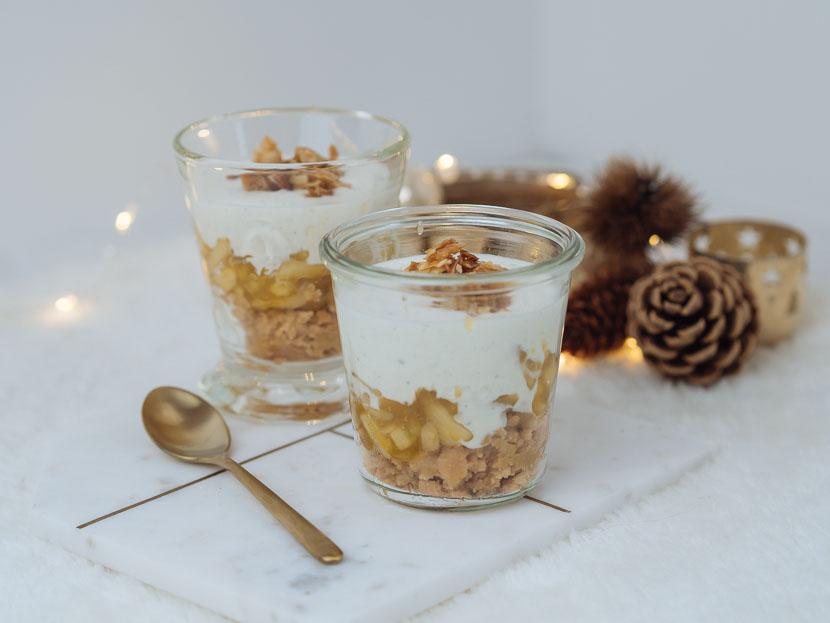 Bratapfel Tiramisu im Glas 2