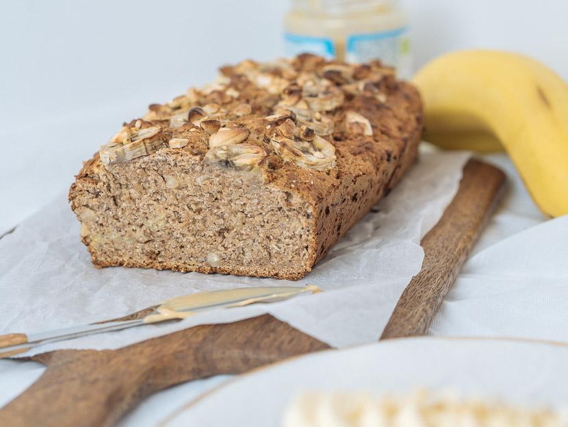 Saftiges Bananenbrot - vegan, ohne Zucker und schnell zubereitet 2