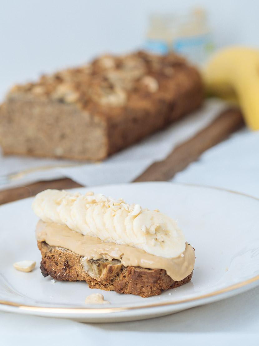 Saftiges Bananenbrot - vegan, ohne Zucker und schnell zubereitet 1