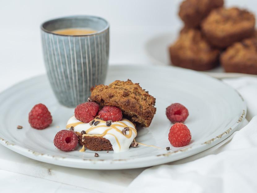 Protein Frühstücks-Muffins mit Banane 5