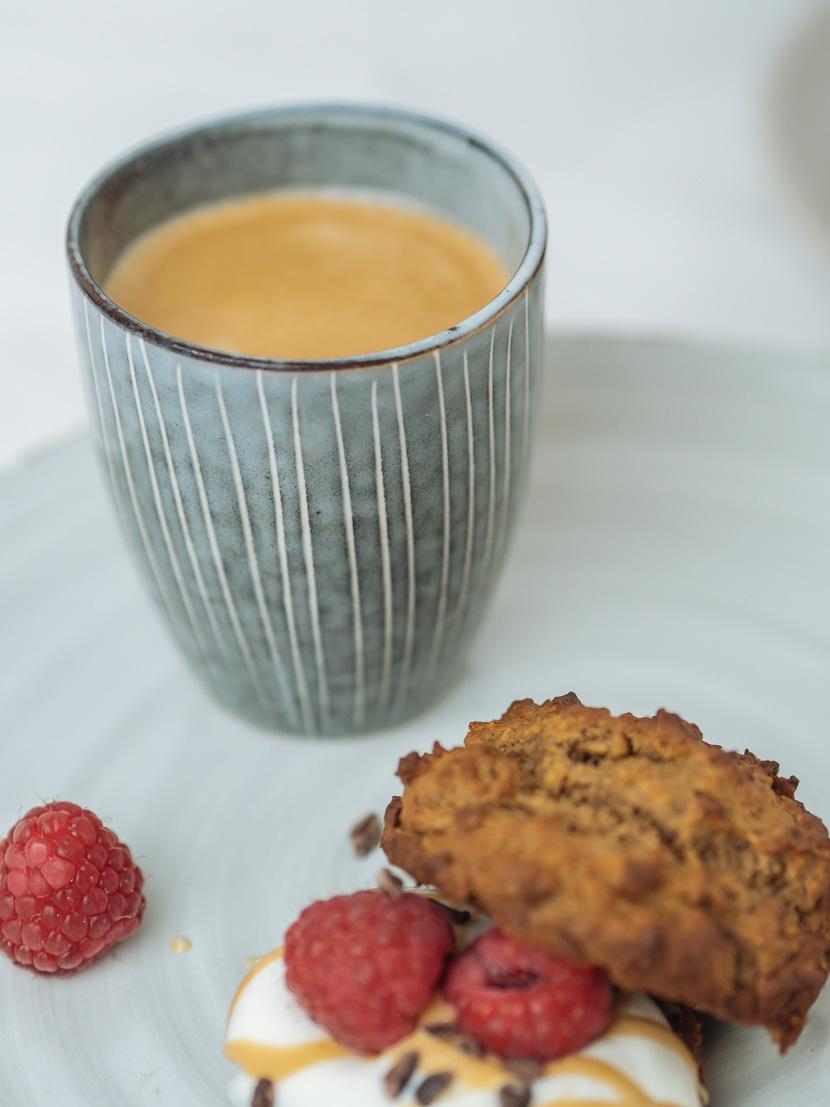Protein Frühstücks-Muffins mit Banane 4