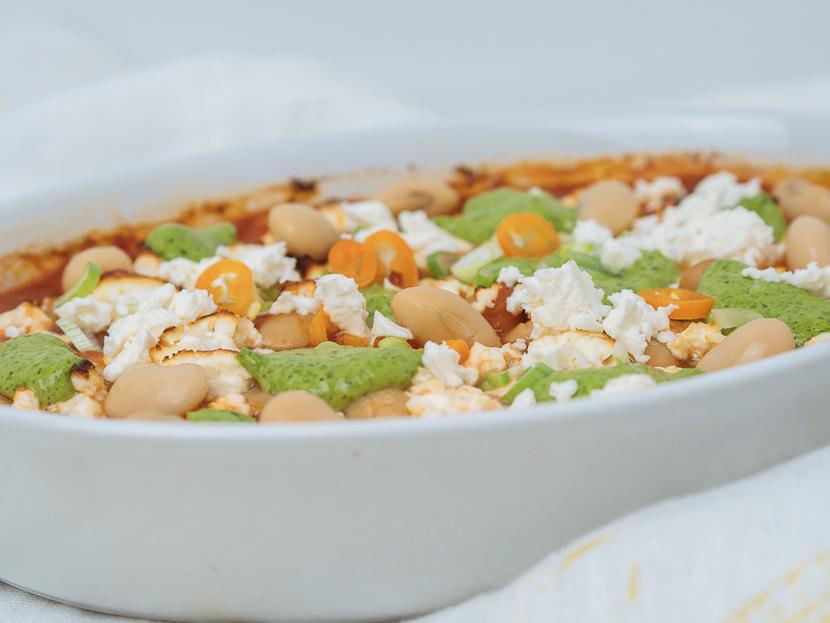 Baked Beans mit Bärlauchpesto 1