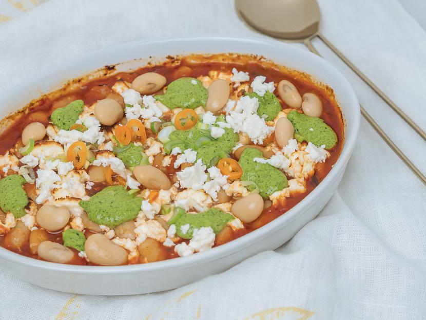 Baked Beans mit Bärlauchpesto 2