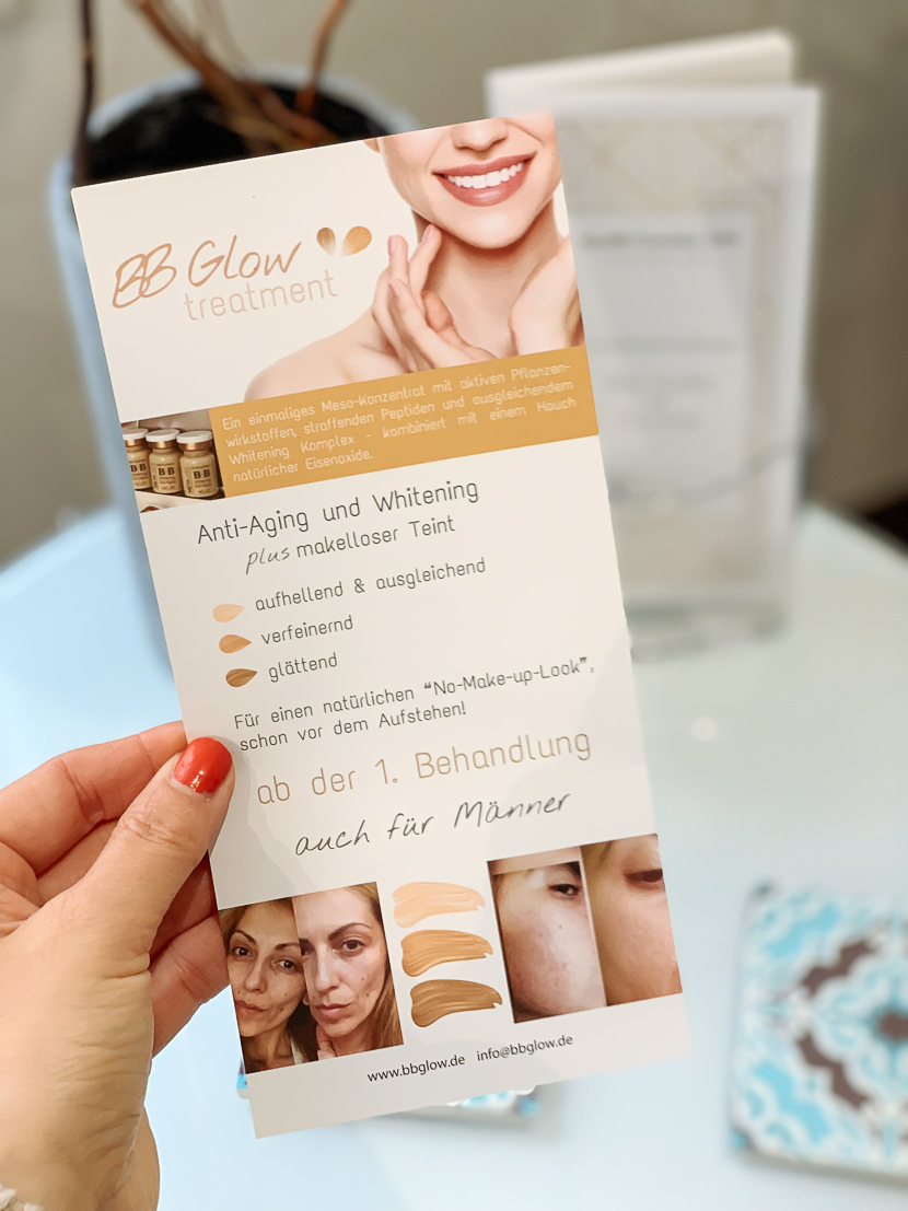BB Glow Treatment - ebenmäßiges Hautbild ohne Make-up 3
